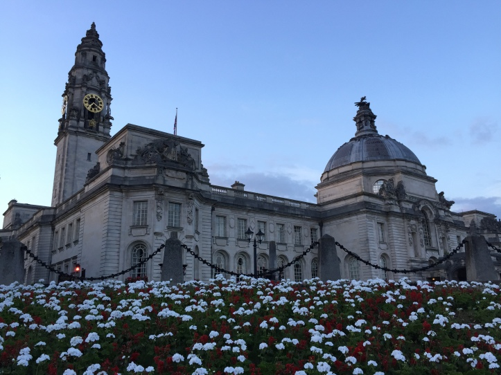The Civic Hall in Cardiff where the 2015 Future of Journalism Conference took place